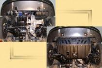 """Авто-Полигон FIAT Albea 1,4л с 2006г. Защита моторн. отс. ЗМО категории """"St"""""""