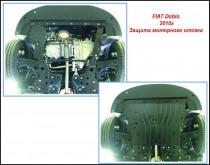 """Авто-Полигон FIAT Doblo 1.3 TDi ;1,6 D c 2010г.в. Защита моторн. отс. категории """"St"""""""