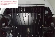 """Авто-Полигон FIAT Grande Punto 1,3D/1,4 c 2012-- Защита моторн. Отс. категории """"E"""""""