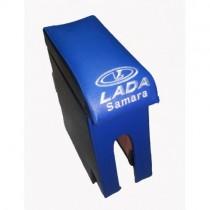 Probass Tuning Подлокотник Ваз 2108 - 2109 - 21099 с вышивкой синий