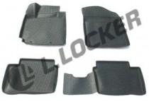 L.Locker Коврики в салон Kia Picanto 2011- полиуретановые