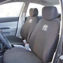 Prestige Чехлы на сидения Hyundai Accent 2010- делённый 1/3