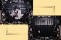 """Авто-Полигон HONDA CR-V 2,0л;2,4л с 2007г. Защита моторн. отс. категории """"St"""""""