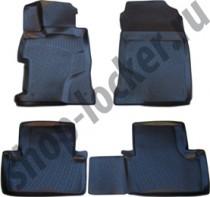 L.Locker Коврики в салон Honda Civic |X sd 3D 2012-  полиуретановые