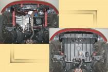 """Авто-Полигон HYUNDAI I10 1,1 АКПП/МКПП,2008-2013 Защита моторн. отс. категории """"St"""""""