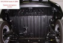 """Авто-Полигон HYUNDAI Santa Fe 2,2л CRDi; 2,7i с 2006 г. Защита моторн. отс. категории """"St"""""""