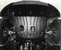 "Авто-Полигон HYUNDAI Santa Fe 2,2 CRDI;2,4 AКПП 2012- Защита моторн. Отс. категории ""A"""