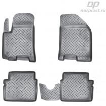 Unidec Коврики резиновые Chevrolet Aveo 2004-2011