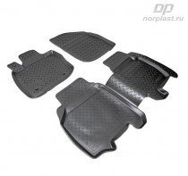 Unidec Коврики резиновые Honda Civic 2006-2012 5D