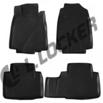 L.Locker Коврики в салон Honda CRV  V 3D 2012-  полиуретановые
