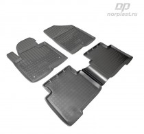 Unidec Коврики резиновые Hyundai Santa Fe 2012-