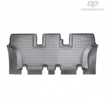 Unidec Коврики резиновые Hyundai Santa Fe 2012- 7 мест (3-й ряд)