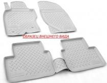 Unidec Коврики резиновые Hyundai Santa Fe 2012- 7 мест (3-й ряд) СЕРЫЙ