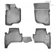 Unidec Коврики резиновые Mitsubishi L200 2007- 3D