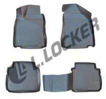 L.Locker Коврики в салон MG 350 2012- полиуретановые
