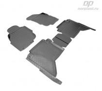 Unidec Коврики резиновые Toyota Hilux 2008-2011