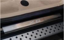 N-nikо Накладки на пороги BMW X6 2008-