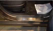 N-nikо Накладки на пороги KIA SPORTAGE III 2010-