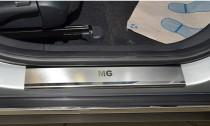 N-nikо Накладки на пороги MG 550 2012-