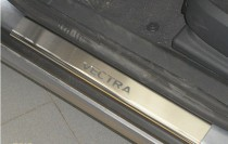 N-nikо Накладки на пороги OPEL VECTRA C 2002-2008