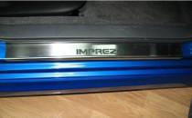 N-nikо Накладки на пороги SUBARU IMPREZA III 2007-