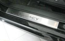 N-nikо Накладки на пороги SUBARU LEGACY V 2009-