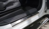 N-nikо Накладки на пороги VW AMAROK 2010-
