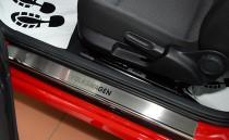 N-nikо Накладки на пороги VW BEETLE 2013-