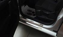 N-nikо Накладки на пороги VW GOLF SPORTSVAN 2014-