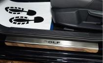N-nikо Накладки на пороги VW GOLF VII 2012-