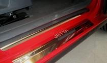N-nikо Накладки на пороги VW JETTA V 2005-2010