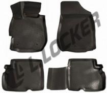 L.Locker Коврики в салон Nissan Almera IV 2013- полиуретановые