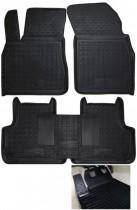 GAvto Резиновые коврики в салон Audi Q7 (2015>)