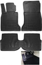 GAvto Резиновые коврики в салон BMW F10 5-серия (2010>)