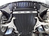 """Авто-Полигон MERCEDES-BENZ ML 350 3.5 2011-.(кузов W166) Защита моторн. Отс. категории """"St"""""""