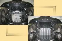 """Авто-Полигон MERCEDES-BENZ ML 350 4 Matic 2005-.(кузов W164) Защита моторн. отс. ЗМО категории """"St"""""""