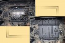 """Авто-Полигон MERCEDES-BENZ S-class W220 4Matic 2002-2005. Защита моторн. отс. категории """"St"""""""