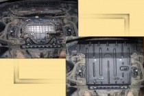 """Авто-Полигон MERCEDES-BENZ S 500 Matic W220 Защита моторн. отс. ЗМО категории """"St"""""""