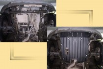 "MERCEDES-BENZ Vito (108/110/112) кузов 638 Защита моторн. отс. категории ""St"""