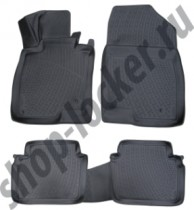 L.Locker Коврики в салон Mazda 6 ||| 3D 2012-  полиуретановые