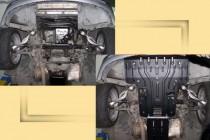 """Авто-Полигон MERCEDES-BENZ W 220 3.2D Защита моторн. отс. ЗМО категории """"St"""""""