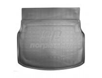 Норпласт Коврики в багажное отделение для Mercedes-Benz C 2014 полиуретановые