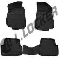 L.Locker Коврики в салон Chevrolet Cobalt sd 3D 2012- полиуретановые