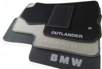 Коврики в салон BMW 5-серия (E-60) (2003-2010)ворсовые