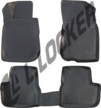 L.Locker Коврики в салон  Peugeot 208 hb 2012- полиуретановые