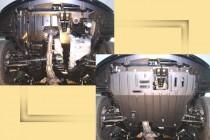 """Авто-Полигон MITSUBISHI Lancer 1,8;2,0 2003-2007г. Защита моторн. отс. категории """"St"""""""