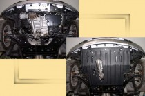 "Авто-Полигон NISSAN Micra 1,2;1,4 2003-. Защита моторн. отс. ЗМО категории ""St"""