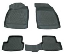 L.Locker Коврики в салон Chevrolet Cruze 3D 2009- полиуретановые