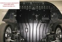 "Авто-Полигон TOYOTA Avensis 1,8;2,0 ;2,2TD, КПП 2009г-2014--. Защита моторн. отс. категории ""St"""