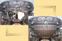 """Авто-Полигон TOYOTA Corolla 1,3;1,6;1,8 2002-2007. Защита моторн. отс. ЗМО категории """"St"""""""